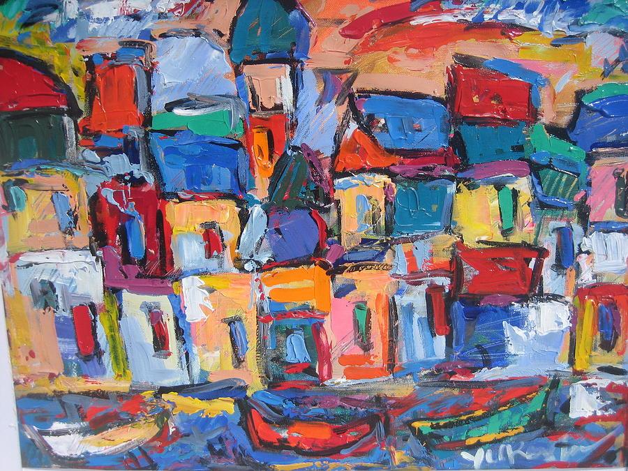 Italy Painting - Amalfi 06 by Len Yurovsky