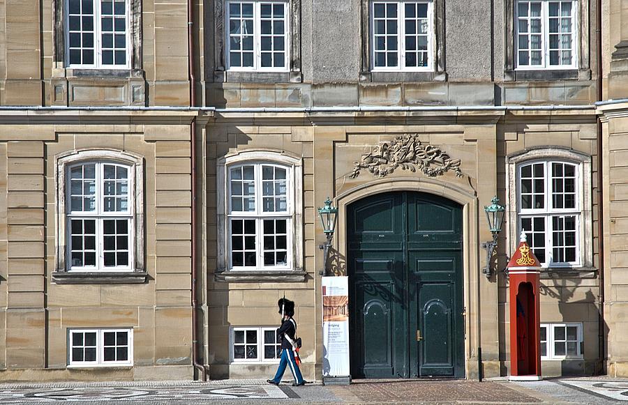 Amalienborg Palace Photograph