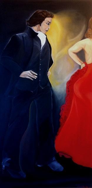 Original Painting - Amartillado by Natalie Trujillo