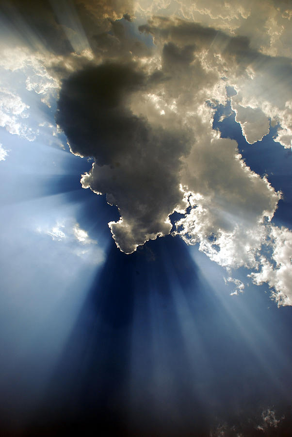 Clouds Photograph - Amazing Grace by Skip Willits
