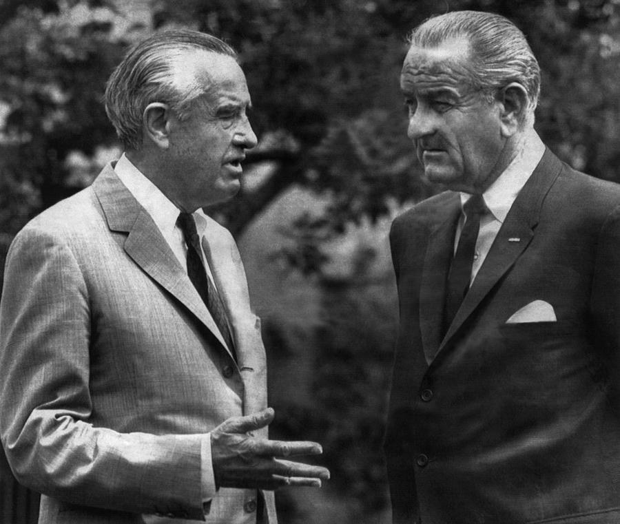 1960s Candids Photograph - Ambassador To Britain, W. Averell by Everett