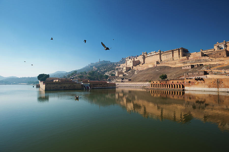 Horizontal Photograph - Amer Fort by Www.igorlaptev.com