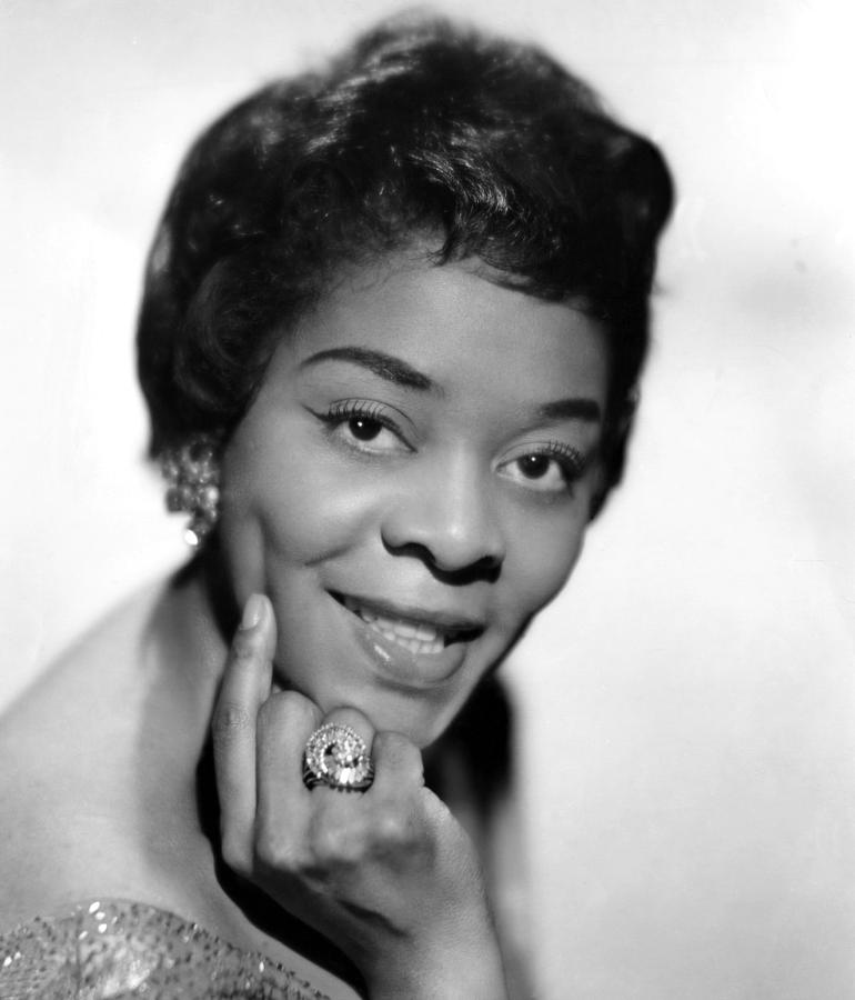 1960s Photograph - American Blues, Jazz, And R&b Singer by Everett