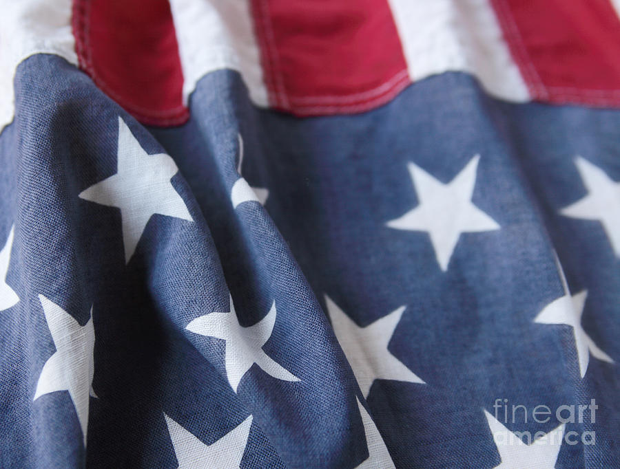 american flag with vertical stripes photograph by ruby hummersmith