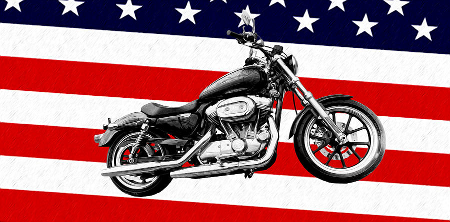 Harley Davidson Photograph - American Made by Bill Cannon