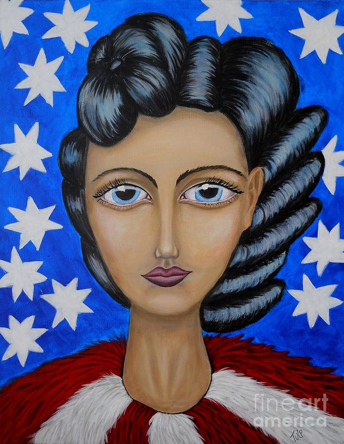 America Painting - American Soul  by Claudia Tuli