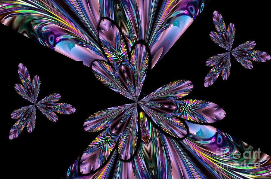 Amethyst Digital Art - Amethyst Affair by Maria Urso