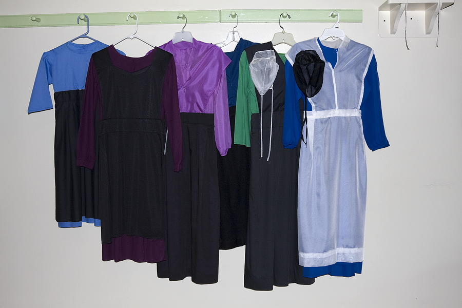 Amish Dresses Photograph By Sally Weigand