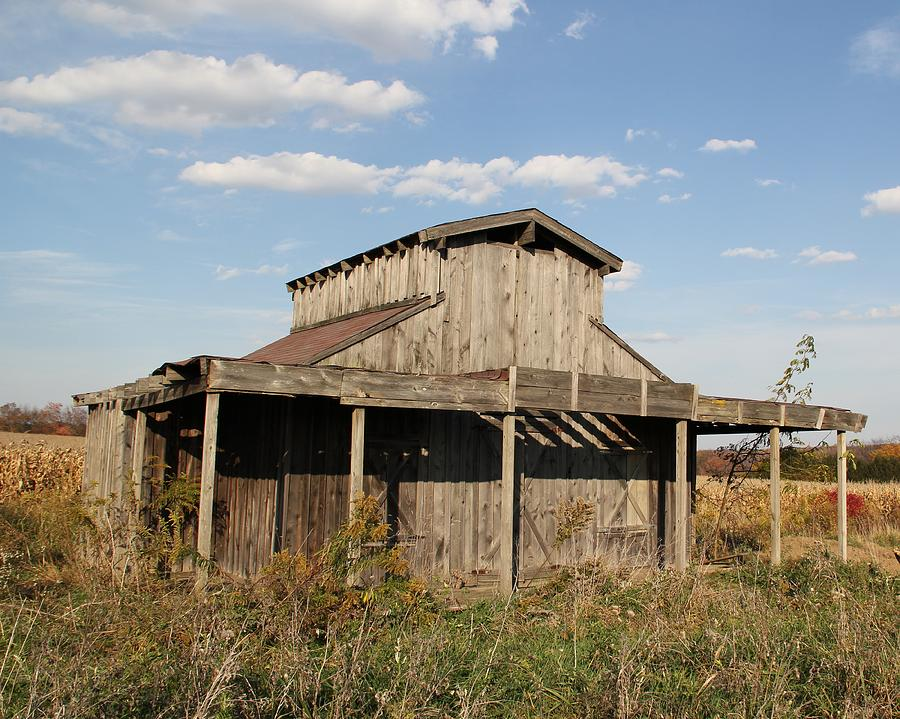 Shed Photograph - Amish Shed #2 by Donna Bosela