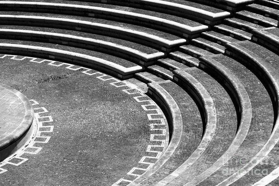 Amphitheatre Photograph - Amphitheatre by Gaspar Avila
