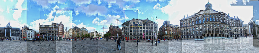Amsterdam Photograph - Amsterdam - Dam Square - 01 by Gregory Dyer