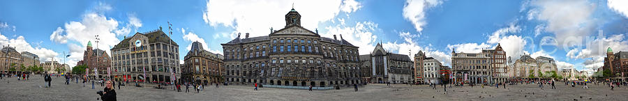 Amsterdam Photograph - Amsterdam - Dam Square - 02 by Gregory Dyer