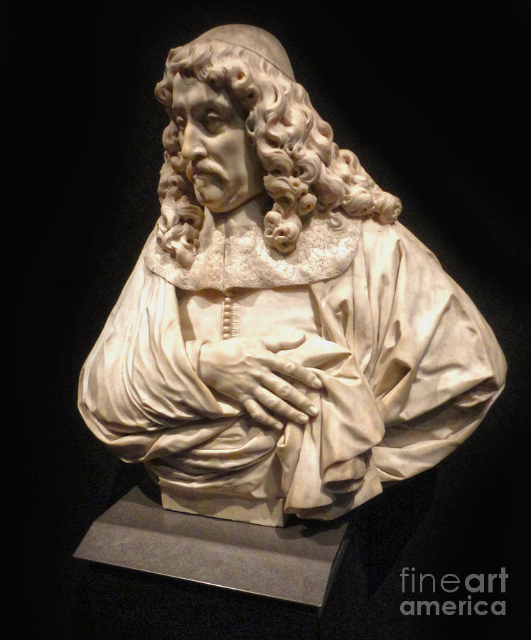 Classic Bust Photograph - Amsterdam Rijksmuseum Classic Bust - 01 by Gregory Dyer