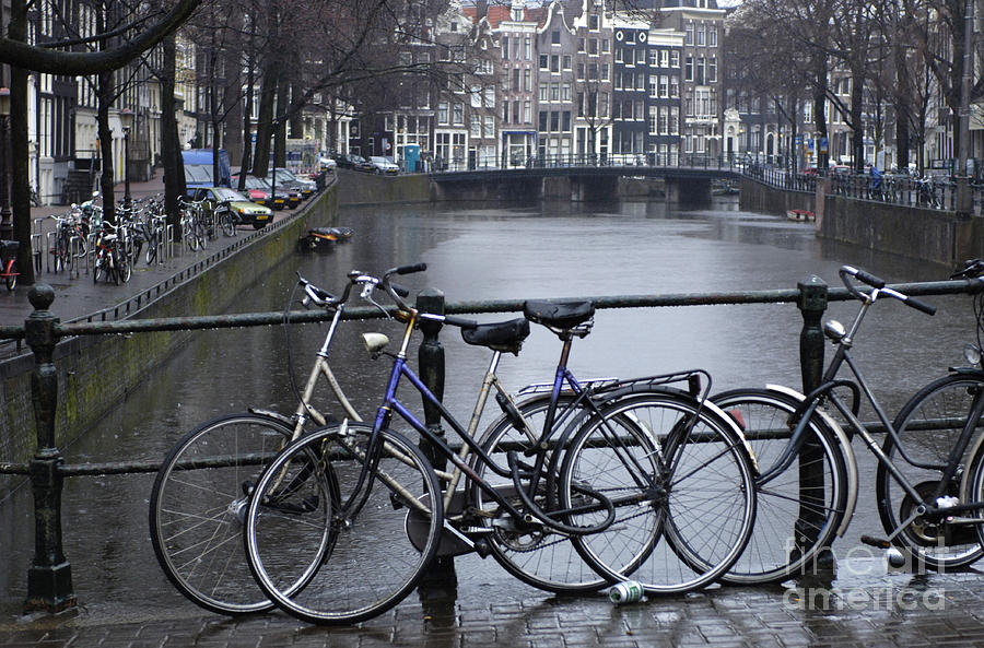 Amsterdam Photograph - Amsterdam The Netherlands by Bob Christopher