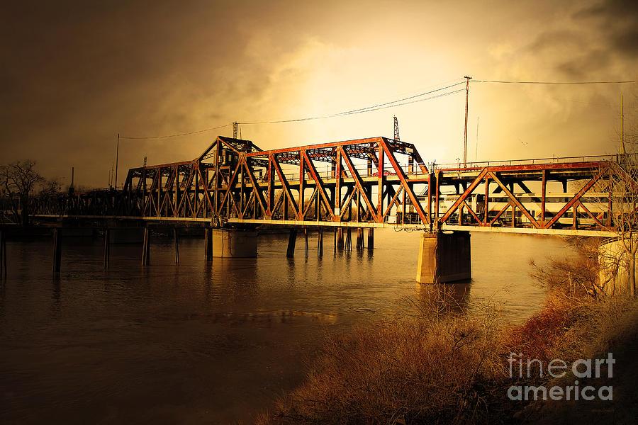 Wingsdomain Photograph - Amtrak California Gold Usa by Wingsdomain Art and Photography