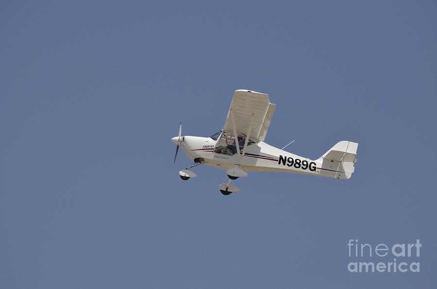 An Aeropro Eurofox Light Sport Aircraft