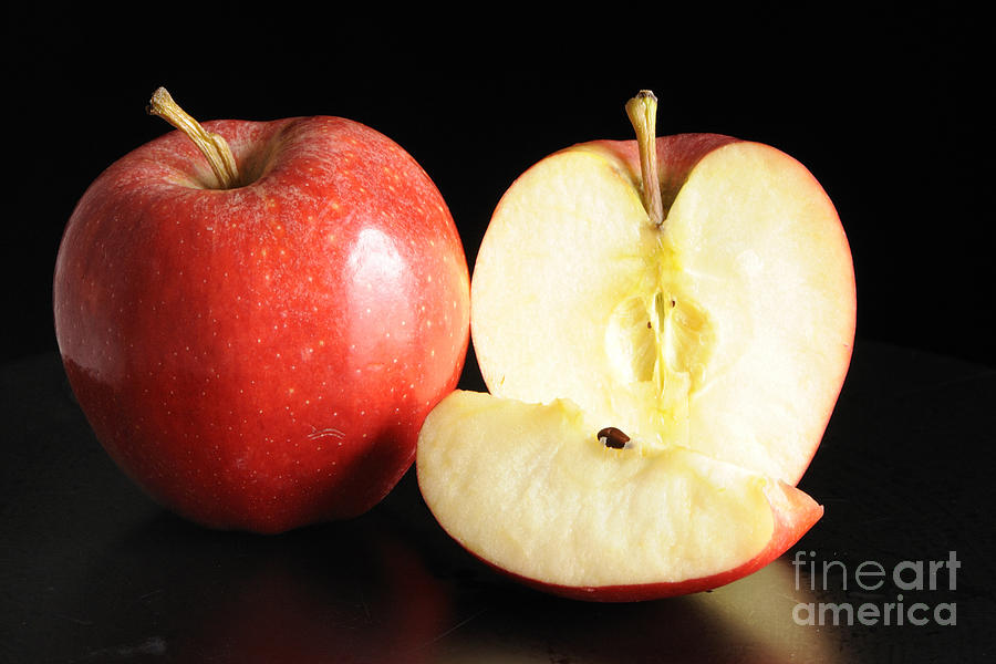Apple Photograph - An Apple A Day... by Nancy Greenland