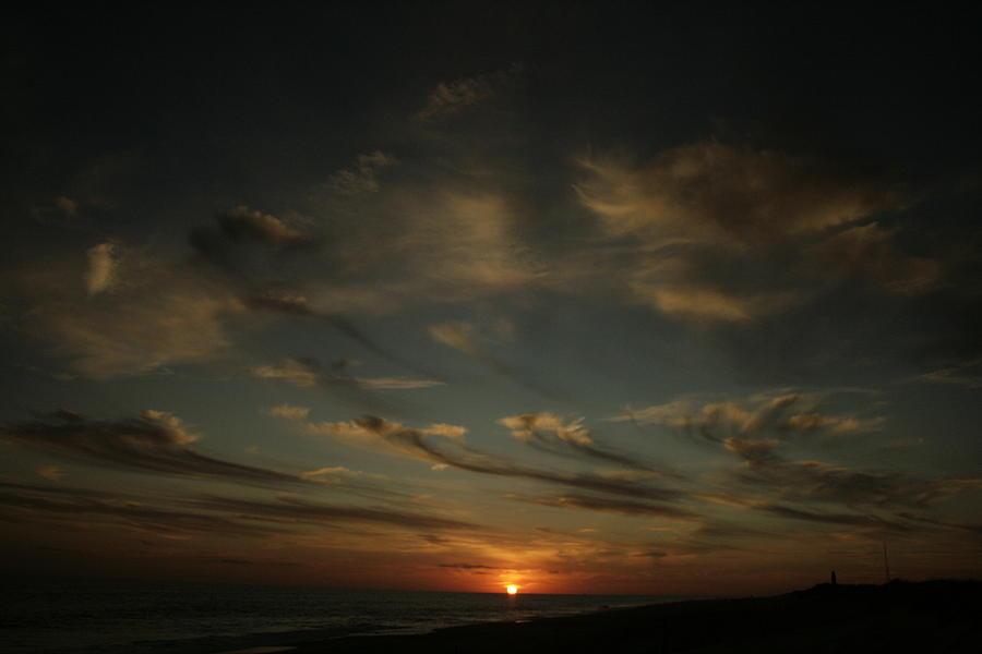 Sun Photograph - An Atlantic Sunset by Christopher Kirby