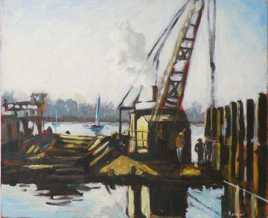 Bay Painting - An Early Start by Thomas Kearon