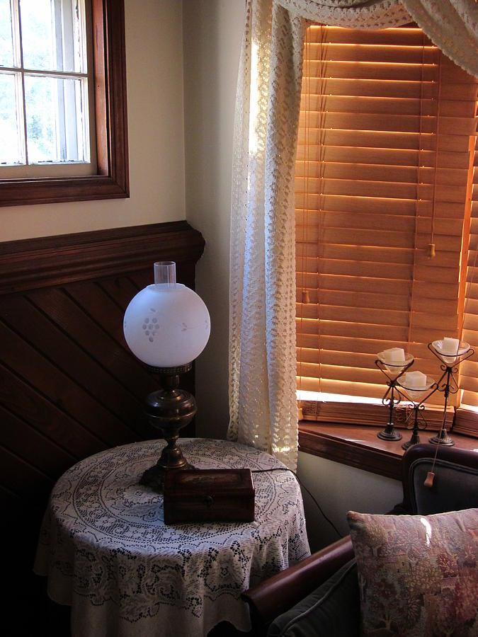 Window Photograph - An Elegant Nook by Guy Ricketts