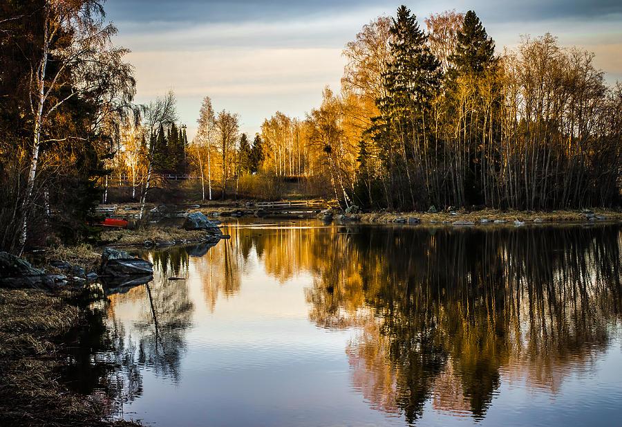 Matti Ollikainen Photograph - An Island by Matti Ollikainen