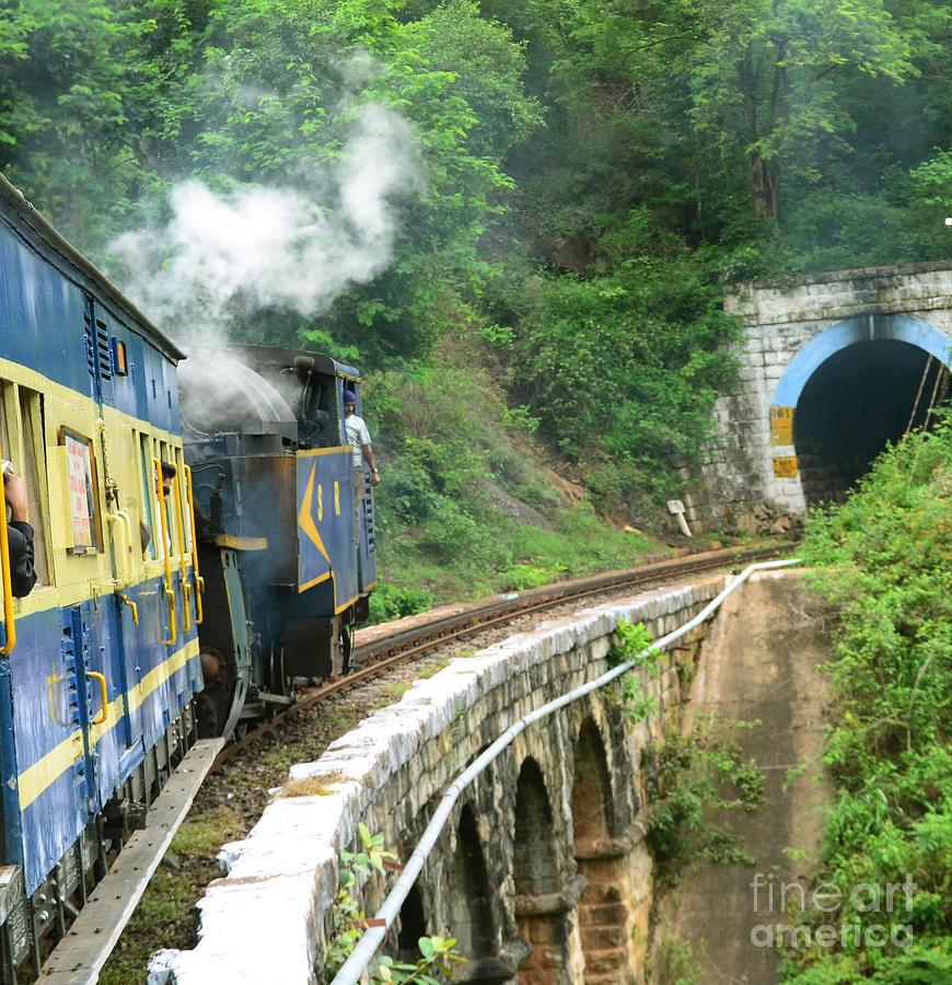 An Old Rail Bridge Photograph by Jiss Joseph