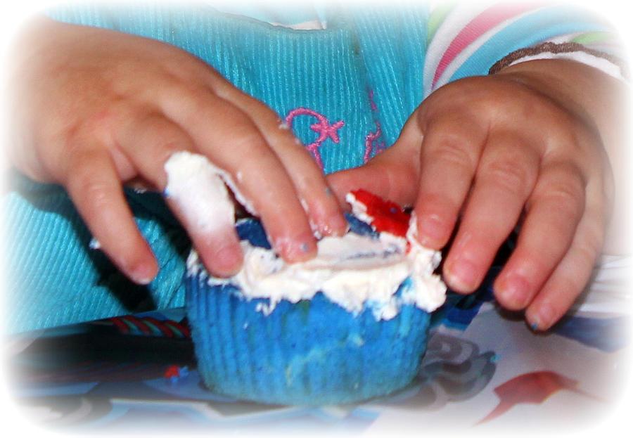Cupcake Photograph - Anatomy Of A Cupcake by Maureen  McDonald