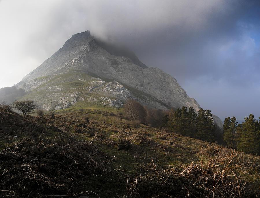 Photograph - Anboto Mountain With Soft Light by Fernando Alvarez