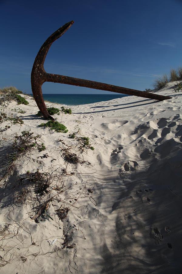Photographer Photograph - Anchor Beach 10 by Jez C Self