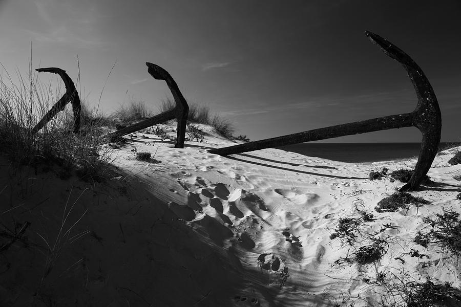 Photographer Photograph - Anchor Beach 12 by Jez C Self