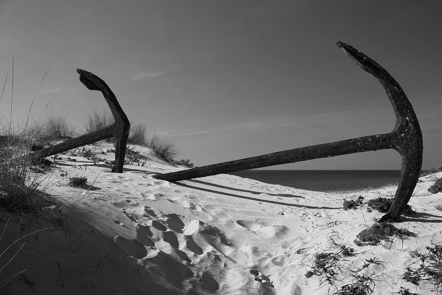 Photographer Photograph - Anchor Beach 9 by Jez C Self