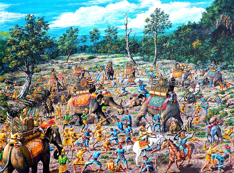 Burmese Paintings For Sale