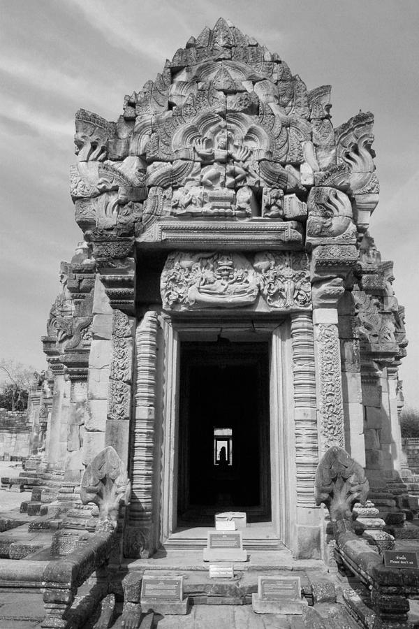 Ancient Photograph - Ancient Castle At Thailand. by Phalakon Jaisangat