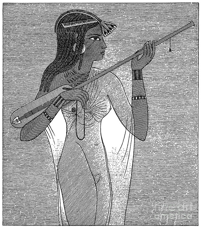 African Photograph - Ancient Egypt: Music by Granger