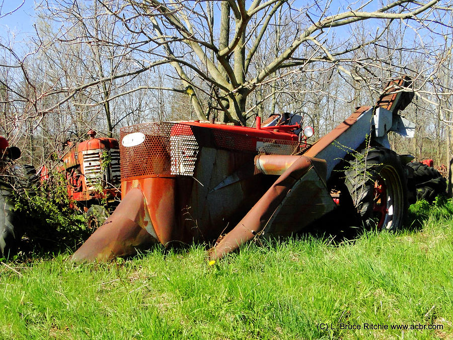 Ancient International Harvester Tractors by Bruce Ritchie