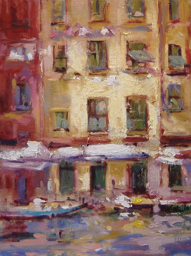 Windows Painting - Ancient Windows 5 by R W Goetting
