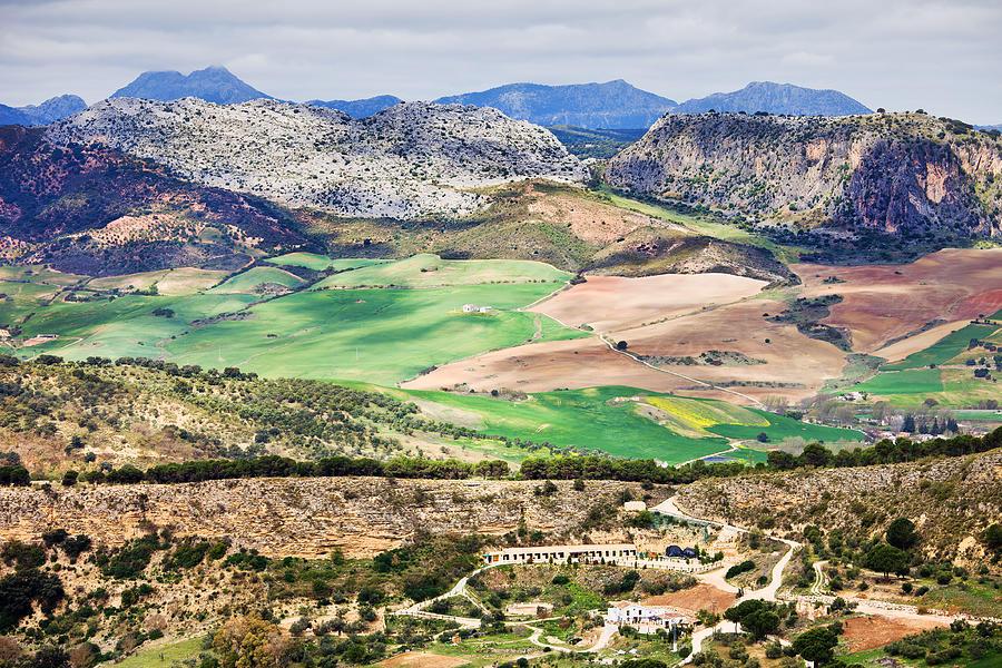 Andalucia Photograph - Andalucia Countryside by Artur Bogacki