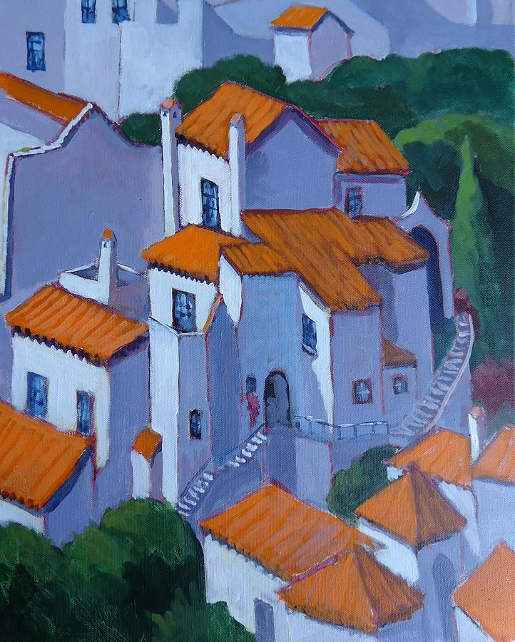 Andalusia Painting - Andalucia Spain by Edward Abela