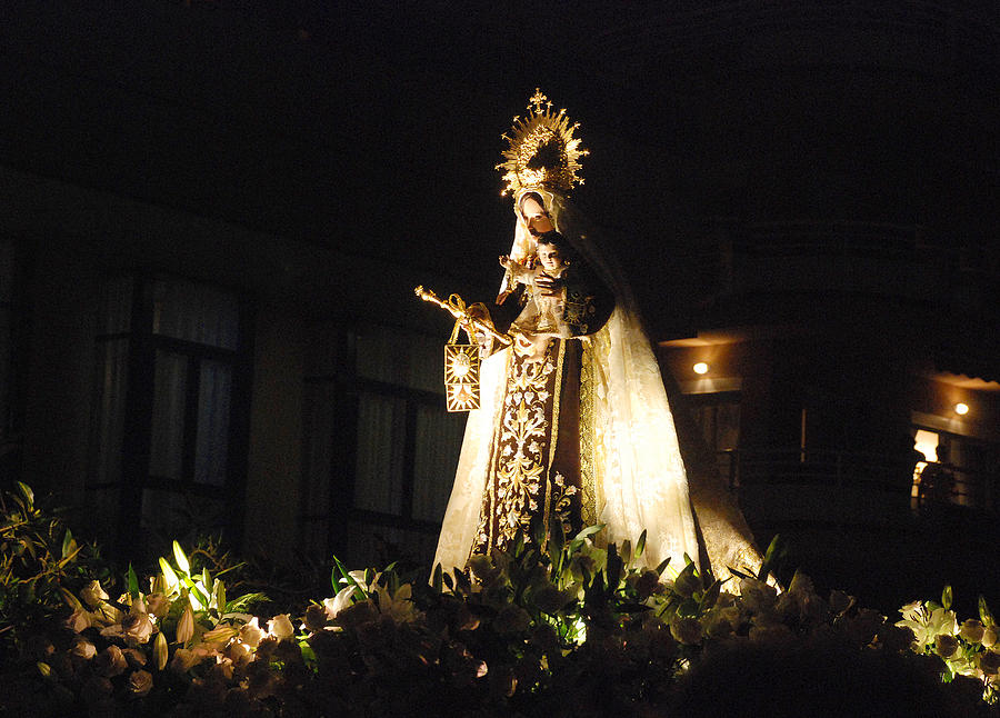 Religion Photograph - Andalusian Procession by Perry Van Munster