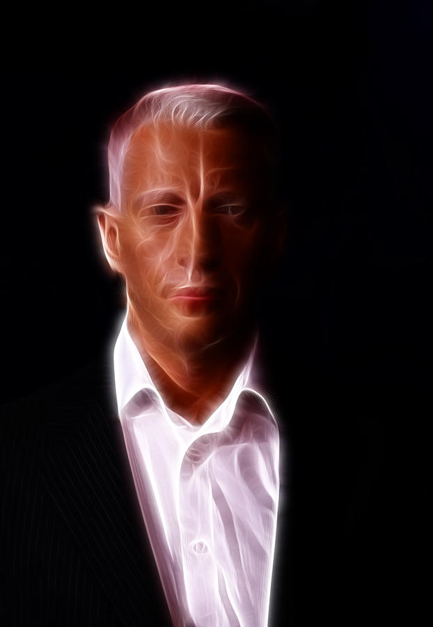 Actor Photograph - Anderson Cooper - Cnn - Anchor - News by Lee Dos Santos