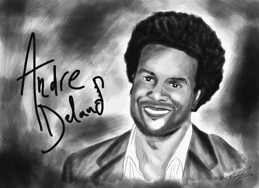 Andre Delano Drawing - Andre Delano by Kenal Louis