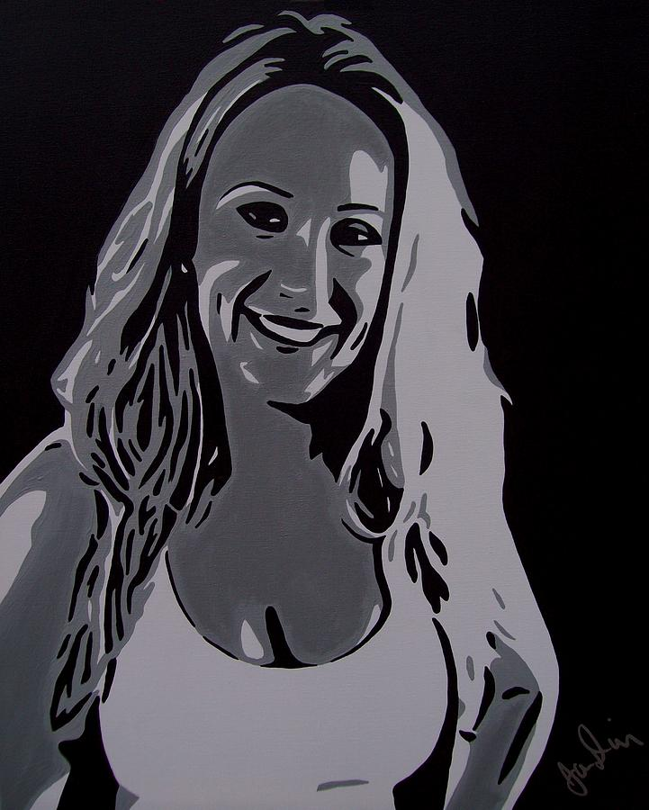Andrea Painting by Ian  King
