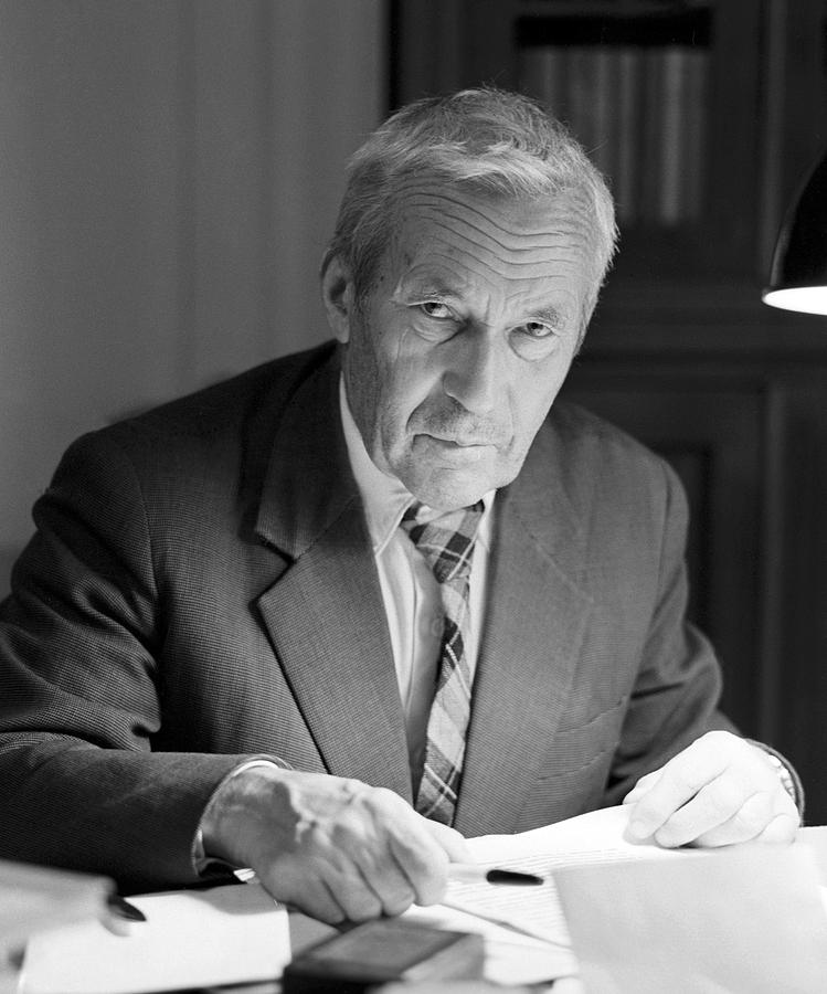 Andrei Kolmogorov Photograph - Andrei Kolmogorov, Soviet Mathematician by Ria Novosti