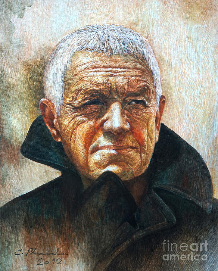 Adult Painting - Andrew Newell Wyeth by Chonkhet Phanwichien