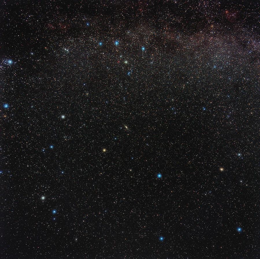 Andromeda Photograph - Andromeda Constellation by Eckhard Slawik