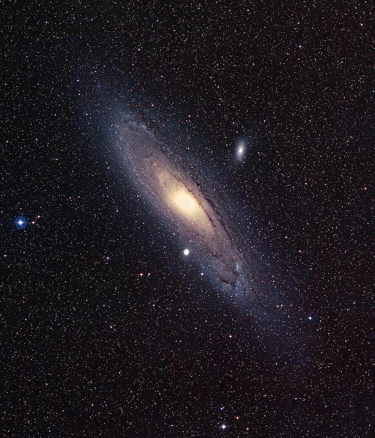 Andromeda Galaxy Photograph - Andromeda Galaxy by Mpia-hd, Birkle, Slawik