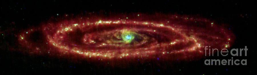 Andromeda Photograph - Andromeda Galaxy by Nasa