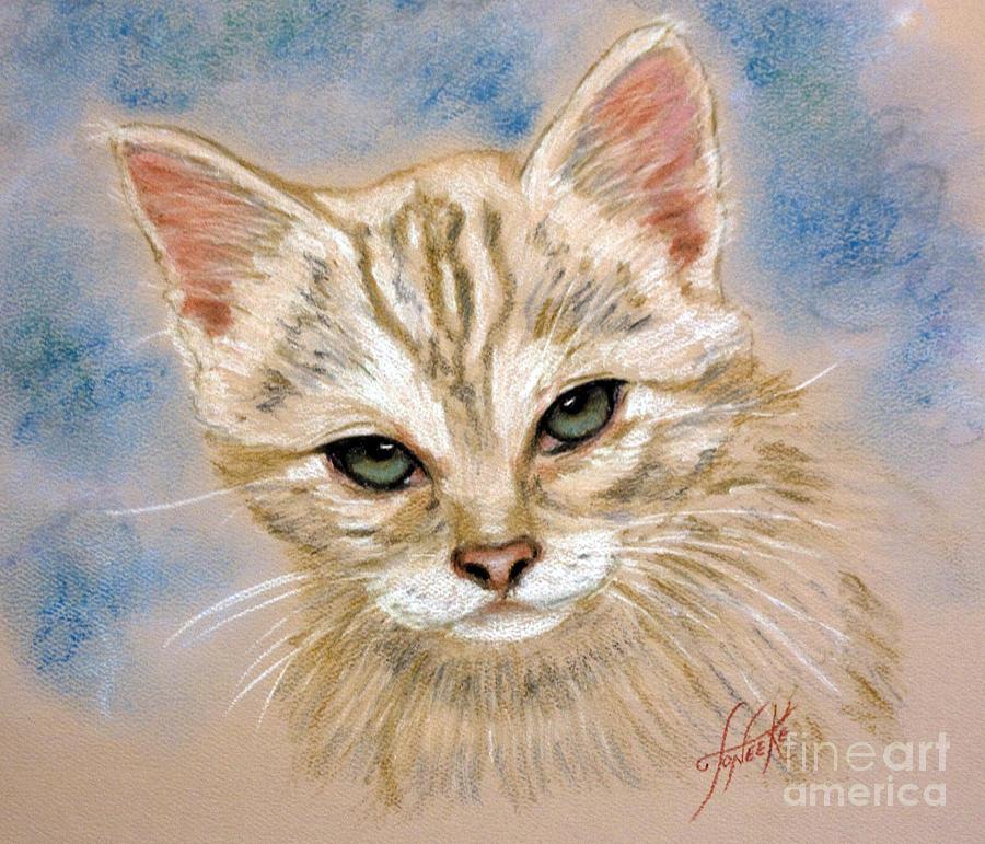 Animals Pastel - Angel # 9 by Toneeke Runinwater - Henderson