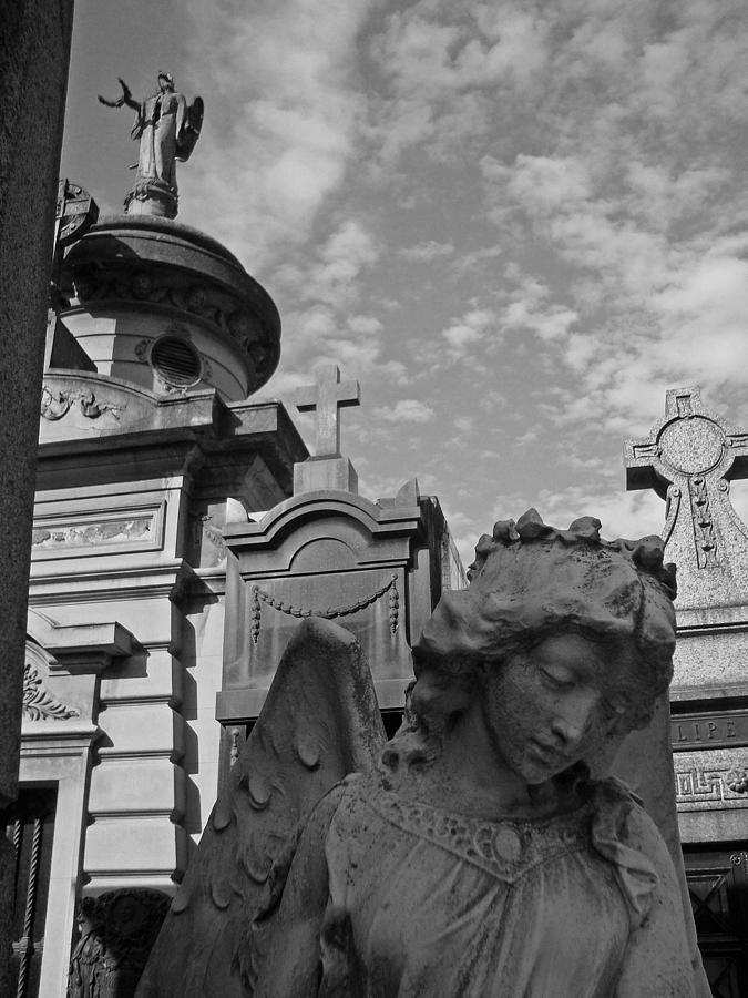 Angel Of La Recoleta Photograph