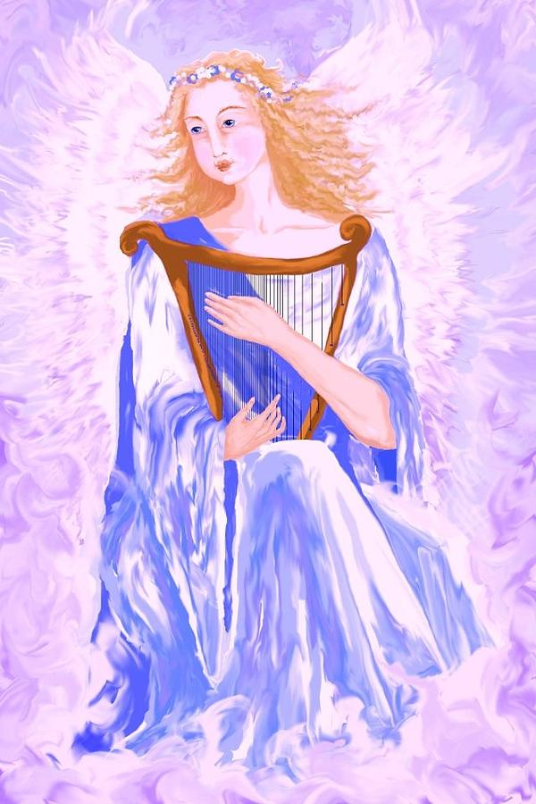 Angel Painting - Angel by Sheri Strang